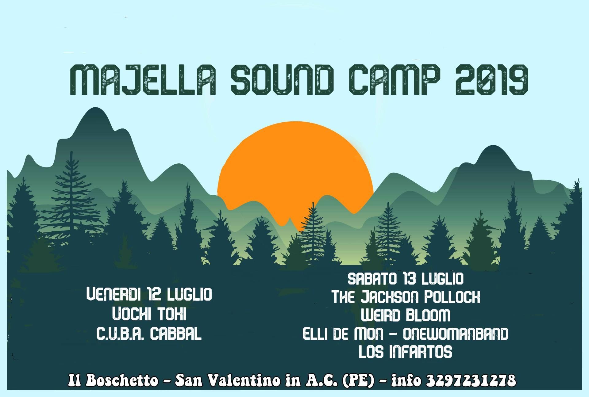 Majella Sound Camp 2019